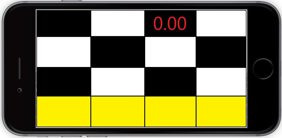 Black and White Tiles Game