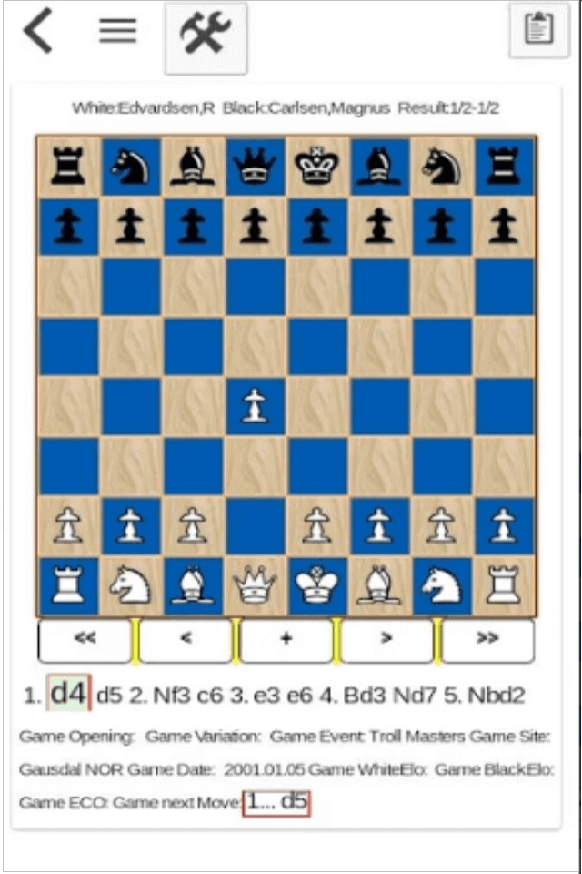 Chess Tournament IOS game app