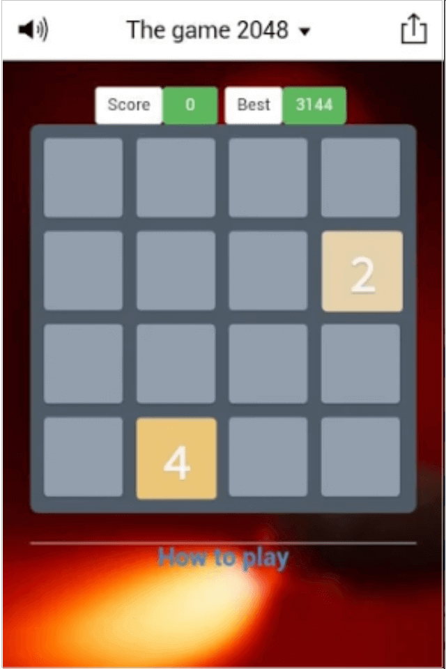 Grid Numbers Puzzles Mobile Game